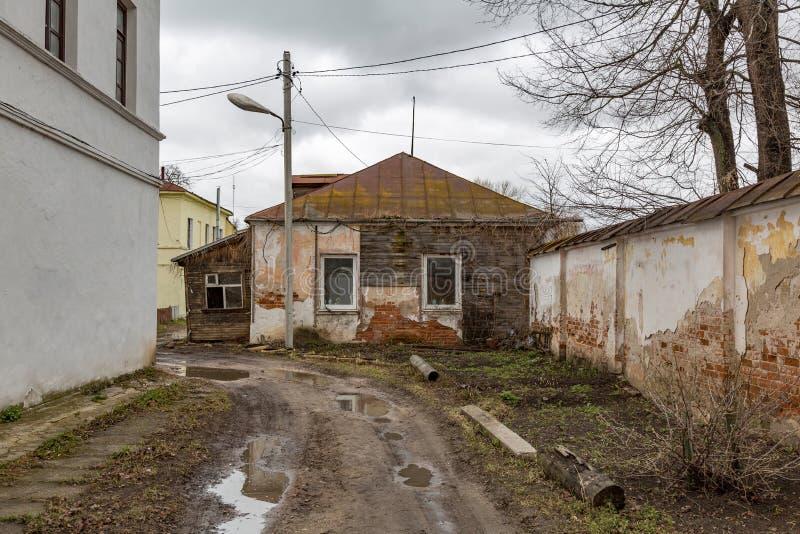 Kleines verlassenes Haus stockfoto
