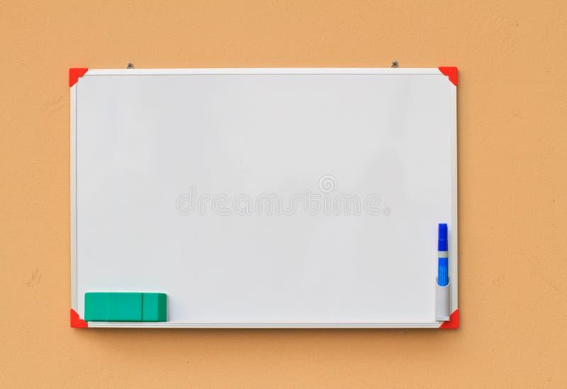 Kleines whiteboard stockfotografie