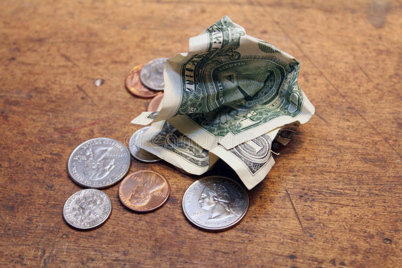 Kleingeld lizenzfreies stockfoto