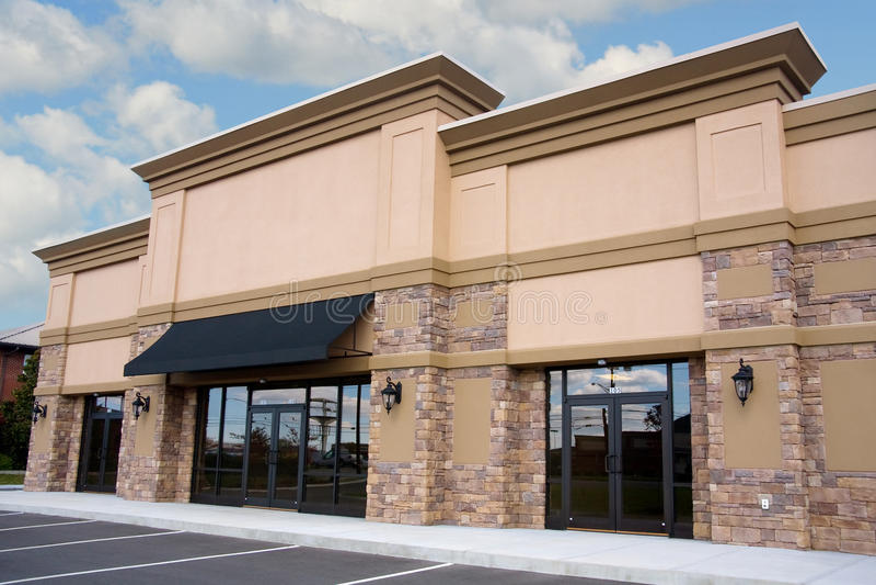 Kleinhandels Storefront royalty-vrije stock foto