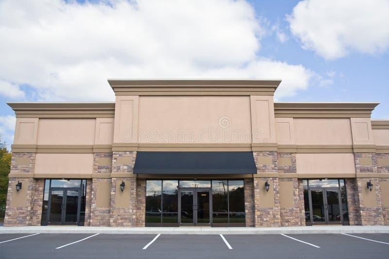 Kleinhandels Storefront stock afbeeldingen