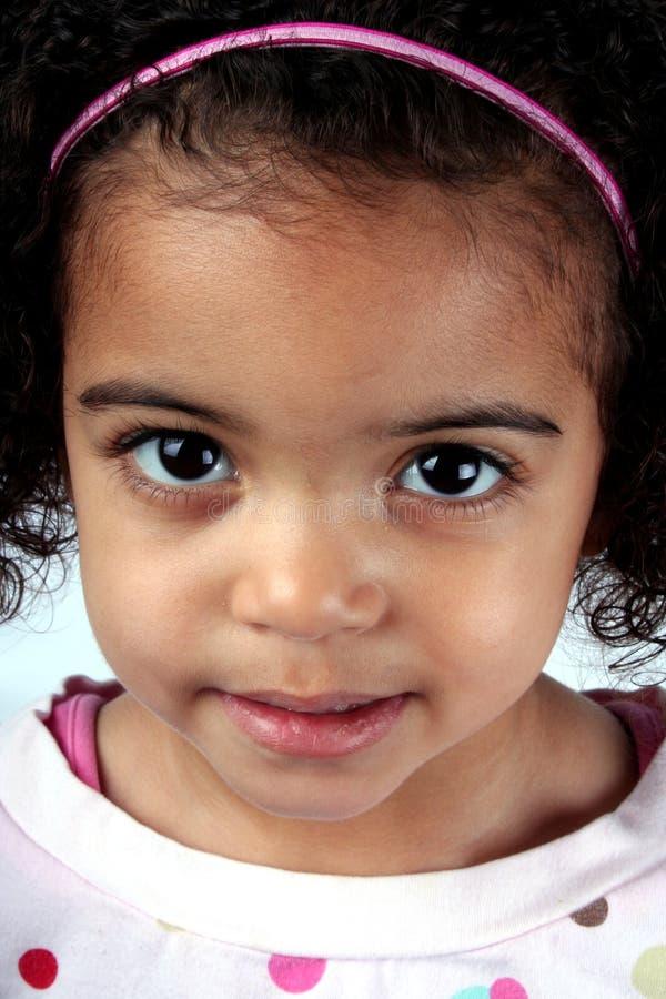 Kleinkind-Mädchen lizenzfreies stockfoto