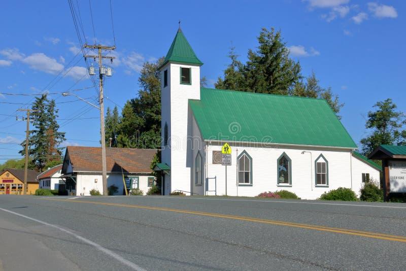 Kleinstadt-Kanadier Christian Church stockfotografie