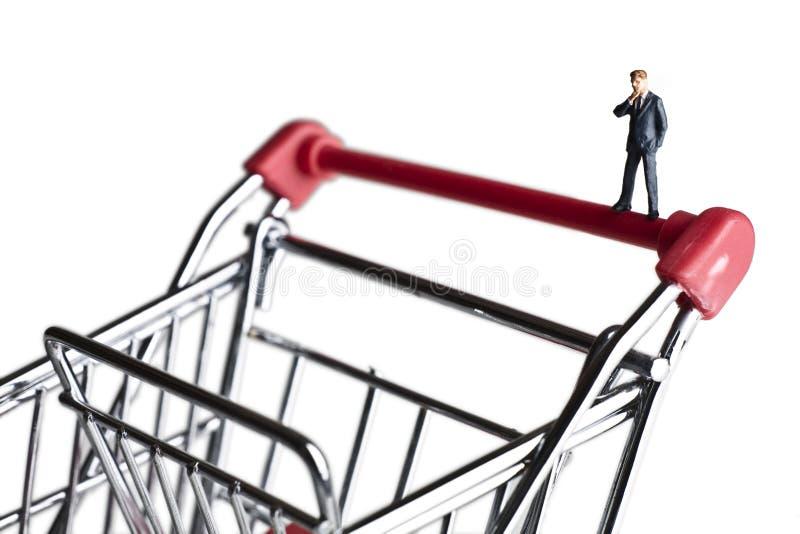 Kleinunternehmeneinkaufen für Kapital stockfoto