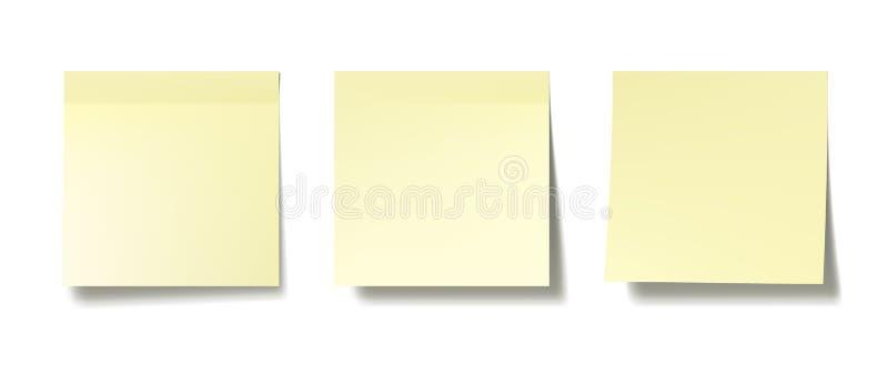 Kleiste notatki ilustracji