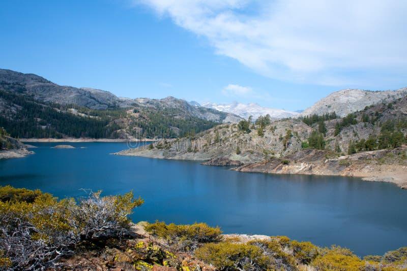 Klejnot jezioro na pośpiech zatoczki śladzie obrazy royalty free