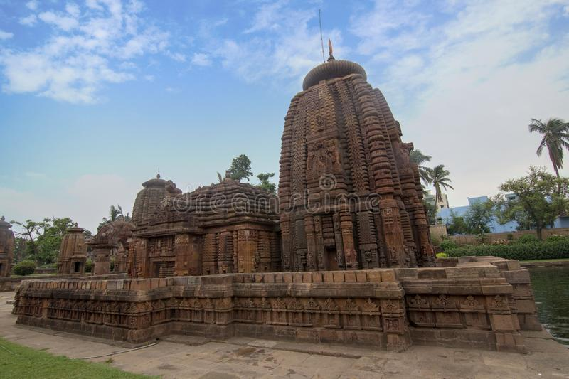 Klejnot Odisha architektura, Mukteshvara świątynia, dedykująca Shiva lokalizował w Bhubaneswar, Odisha, India fotografia royalty free