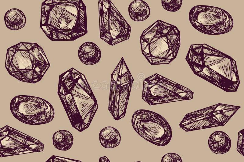 klejnoty royalty ilustracja