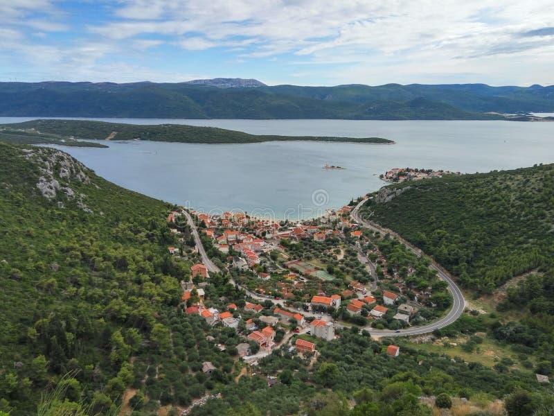 Klek en Croatia foto de archivo libre de regalías