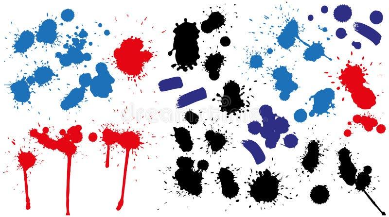 Kleksy ilustracji
