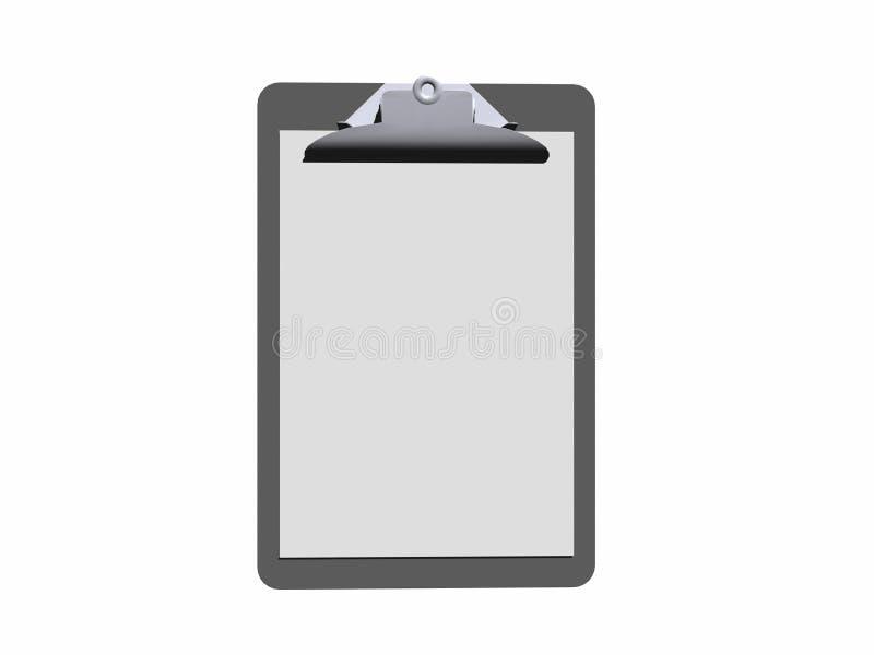 Klembord. vector illustratie