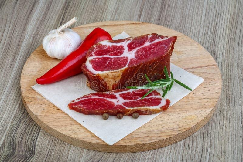 Klemlapje vlees stock afbeeldingen