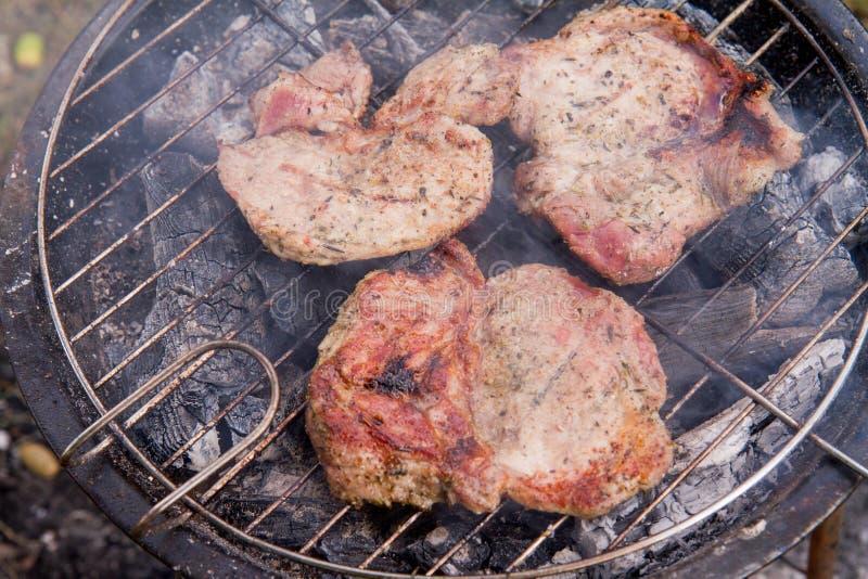 Klemlapje vlees stock foto