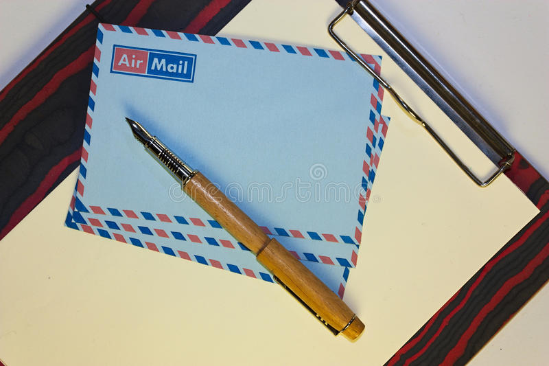 Luftpostposten lizenzfreies stockfoto