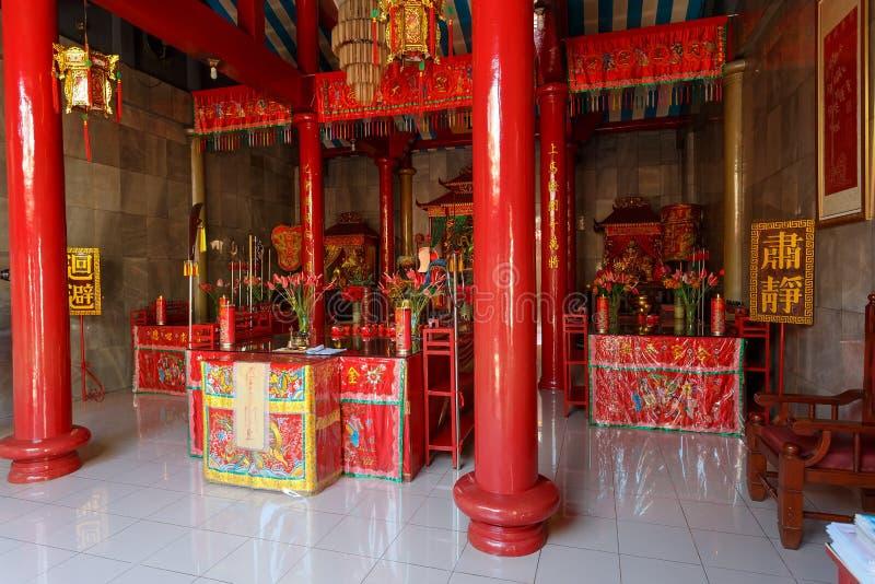 Klenteng Kwan Kong, Manado Indonésie image libre de droits