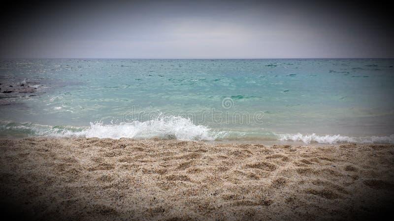Kleopatra-Strand in Alanya stockbilder