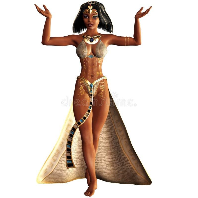 Kleopatra VII 3 stock illustration