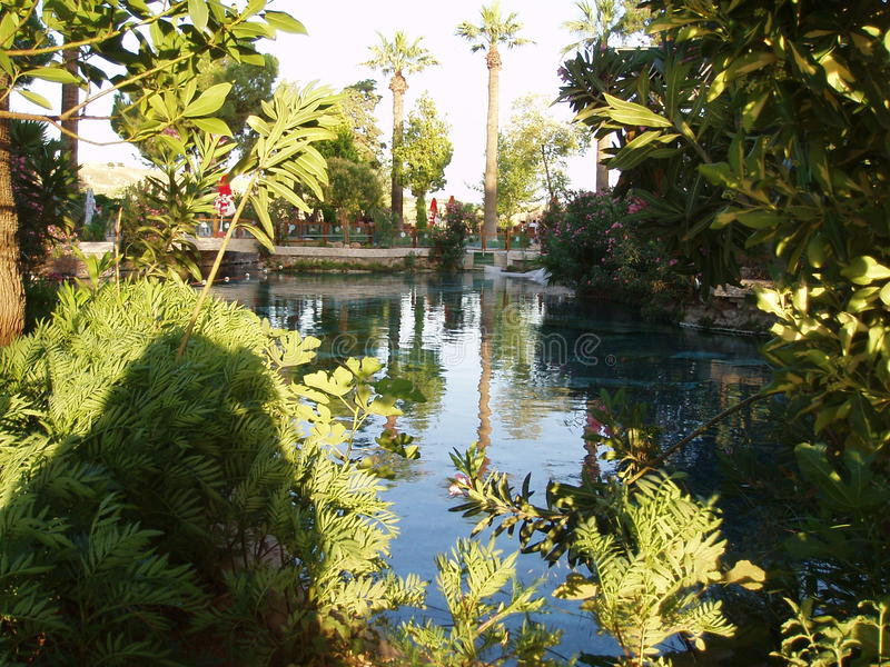 Kleopatra y x27; piscina de s fotos de archivo