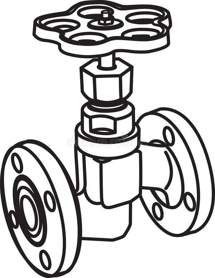 Klep vector illustratie