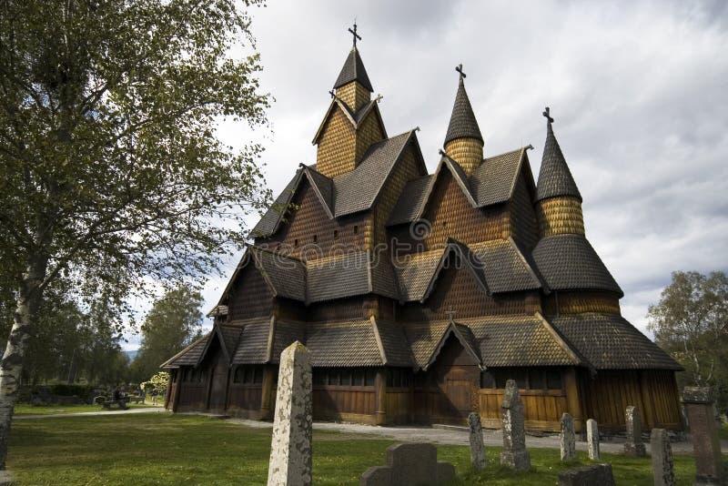 klepka Norway kościelna obrazy stock