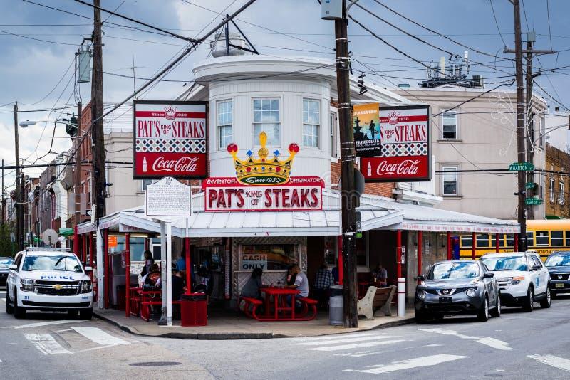 Klepnięcia królewiątko stki, w Filadelfia, Pennsylwania fotografia stock