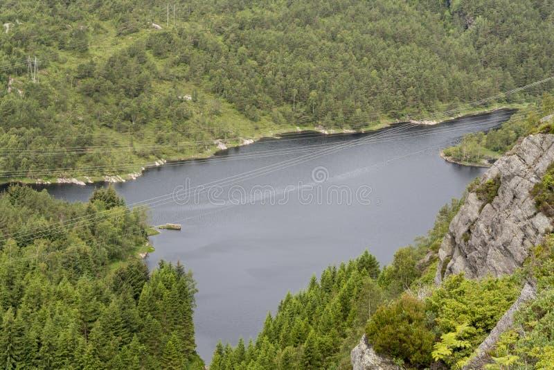Kleppe vattenförsörjningssystem arkivbilder