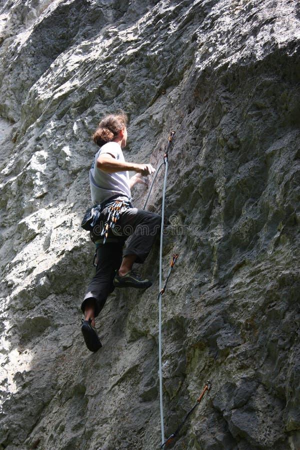 Kletterer stockbilder