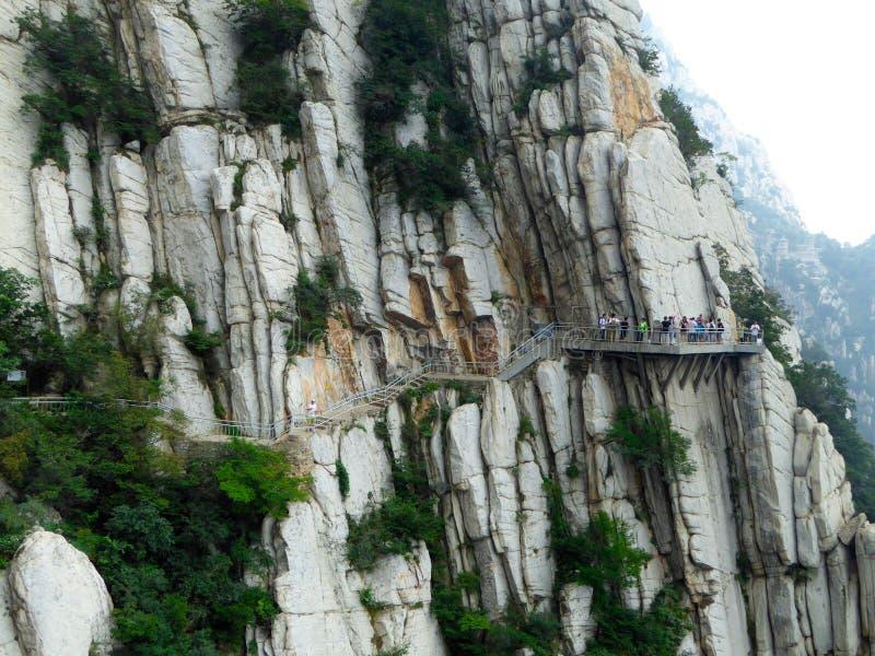 Kletternder Songshan stockbild