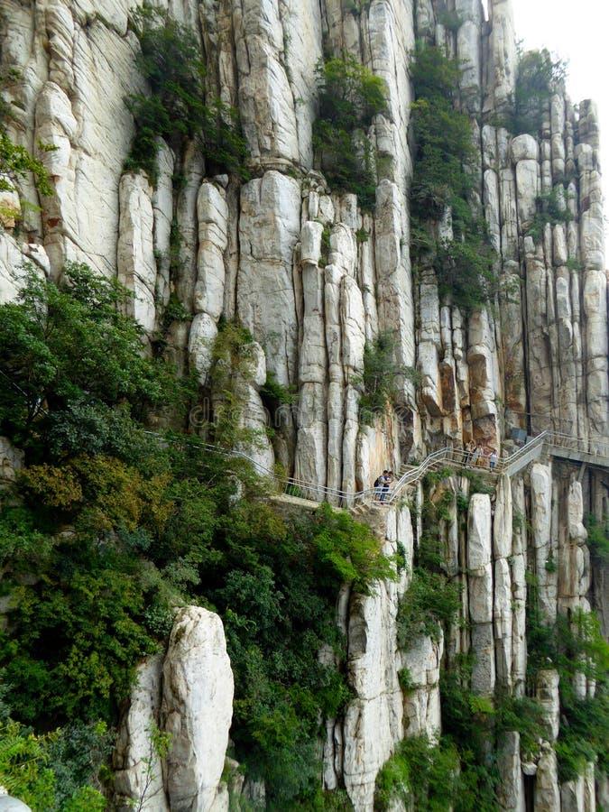 Kletternder Songshan lizenzfreies stockfoto