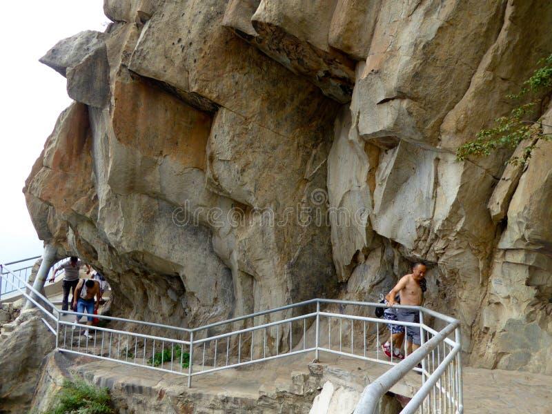 Kletternder Songshan stockfoto