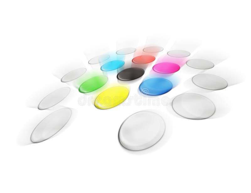 Kleur vector illustratie