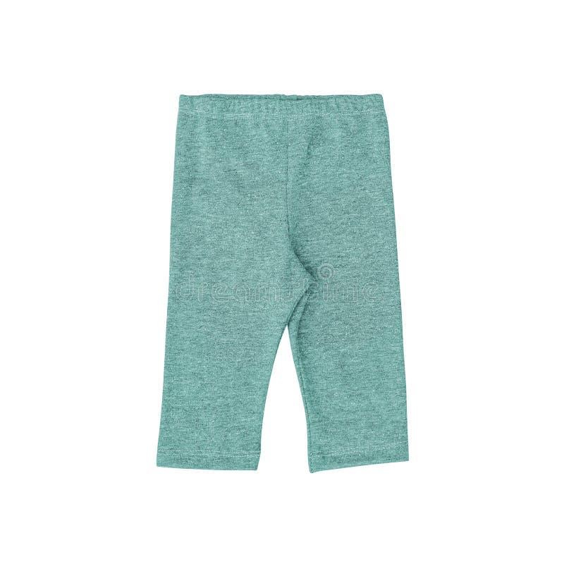 Kleur baby& x27; s broeken op een wit worden ge?soleerd dat royalty-vrije stock afbeeldingen