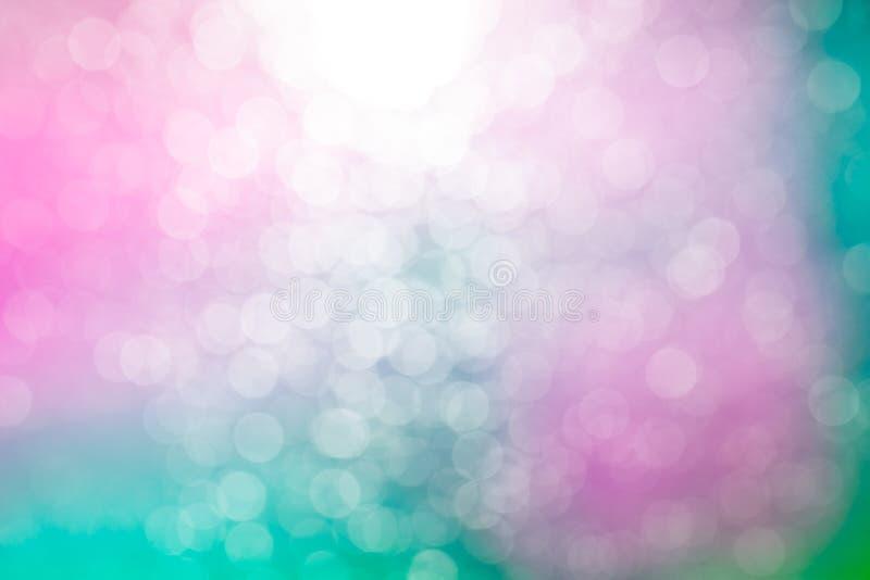 Kleur Bokeh stock foto