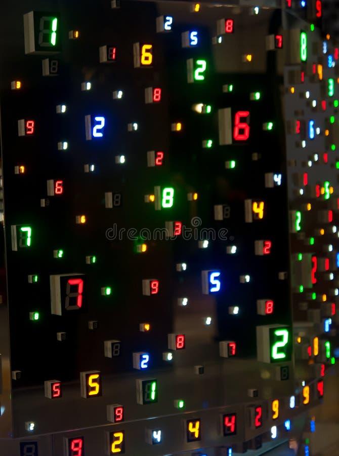 Kleur door aantallen stock afbeeldingen