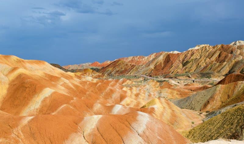 Kleur Geopark stock afbeelding