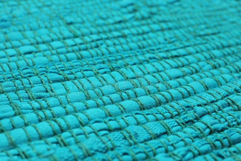 Kleur geweven tapijttextuur als achtergrond royalty-vrije stock afbeelding