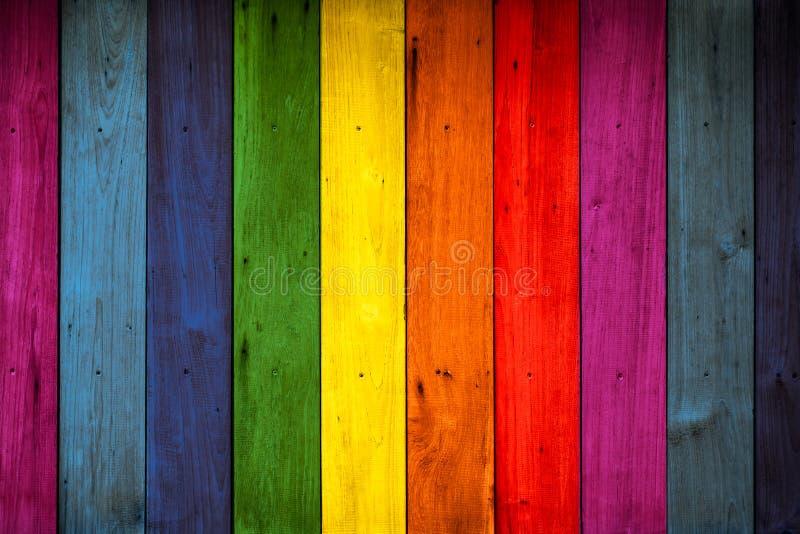 Kleur houten achtergrond royalty-vrije stock foto's