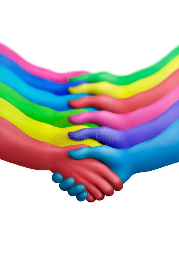 Kleur overeenkomst-7 stock afbeelding