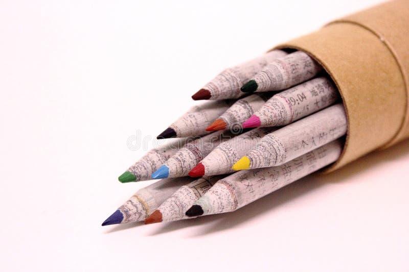 Kleur potlood stock foto