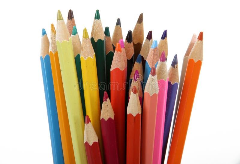 Kleur potlood royalty-vrije stock foto