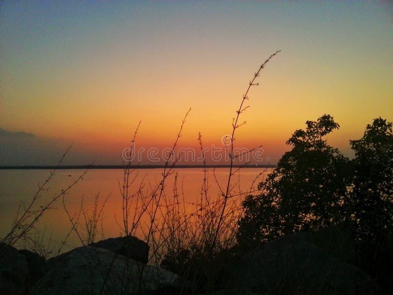 Kleur van avond stock fotografie