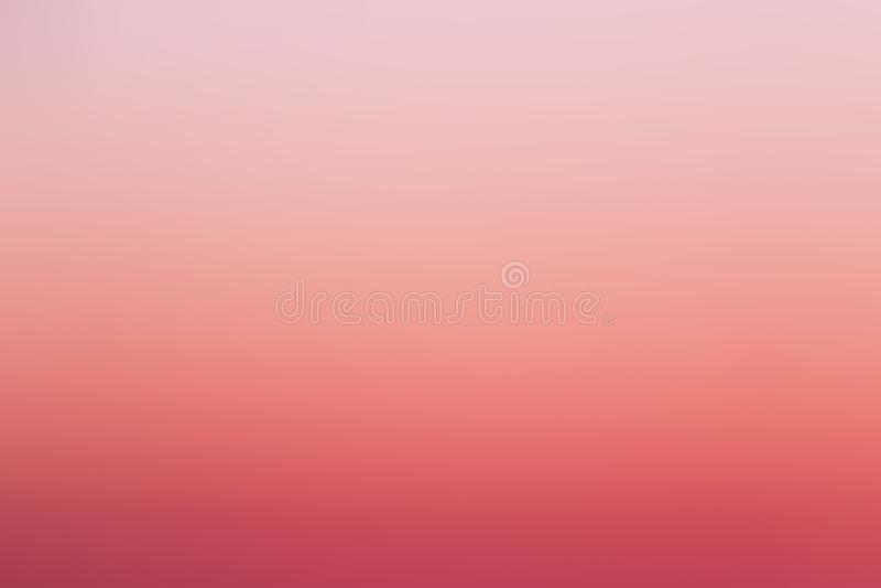 Kleur van hemel terwijl sunsets stock illustratie