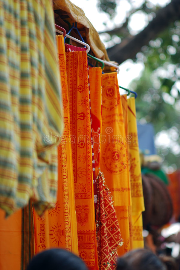 Kleur van India royalty-vrije stock foto