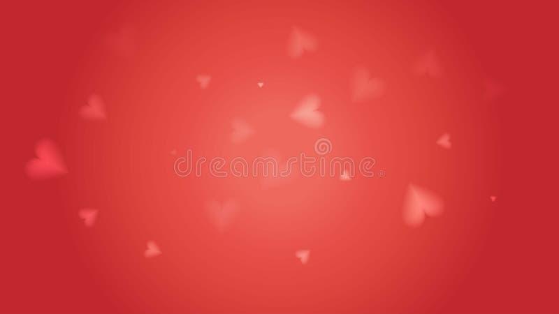 Kleur van jaar 2019 het Leven Koraalconcept De abstracte mooie heldere transparante geweven uitstekende rode achtergrond van de d vector illustratie