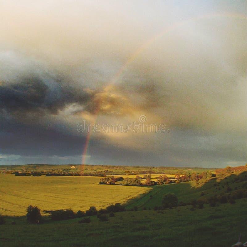 Kleur van Regen stock fotografie