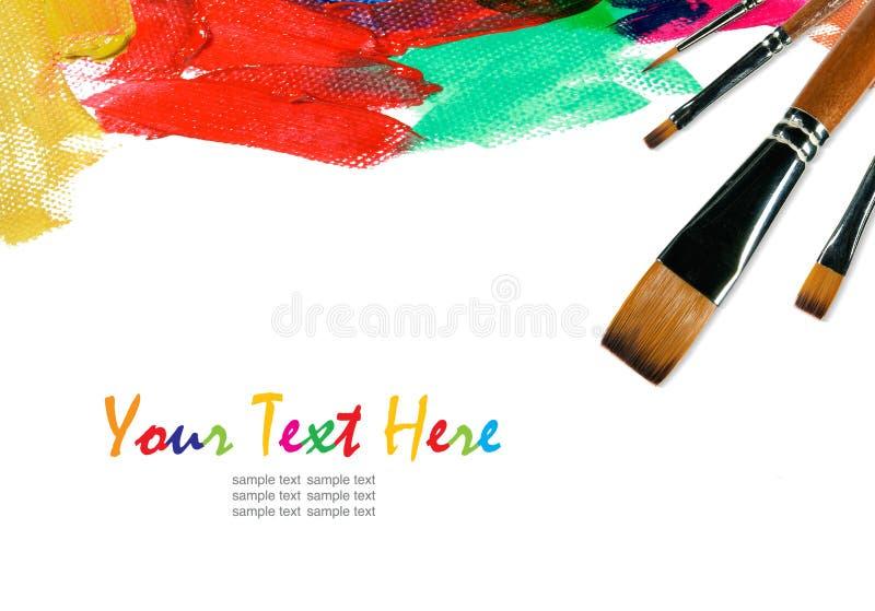 Kleur Verf stock foto