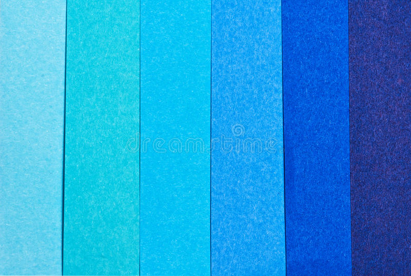 kleurdiepte blauwe document kleur royalty-vrije stock fotografie