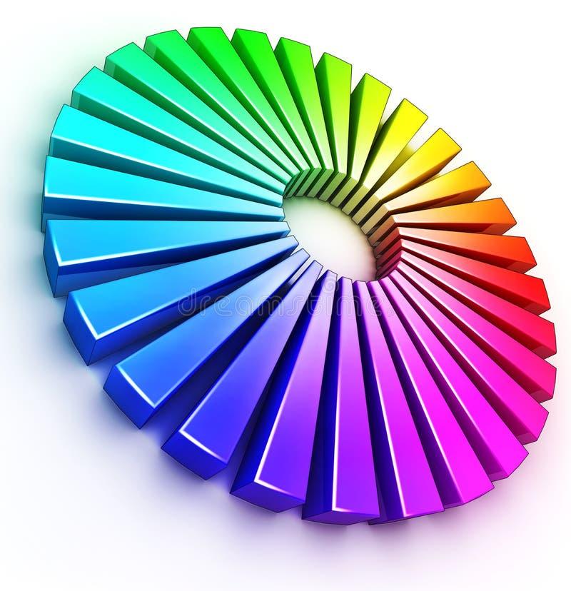Kleuren royalty-vrije illustratie