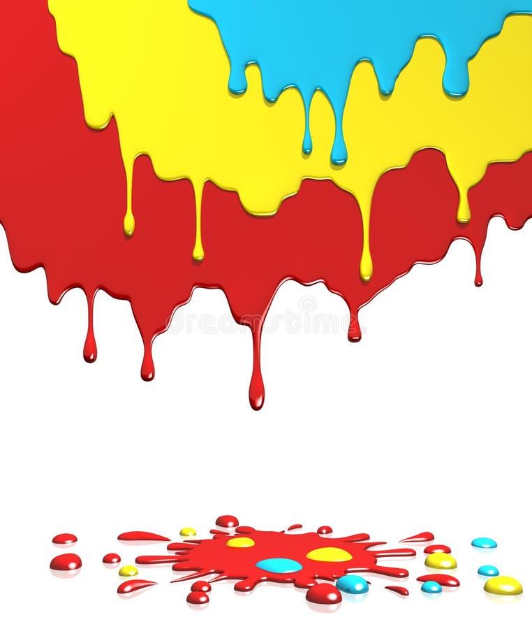 Kleuren stock illustratie
