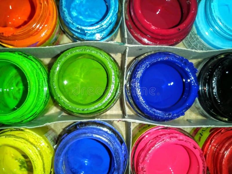 Kleuren royalty-vrije stock afbeeldingen